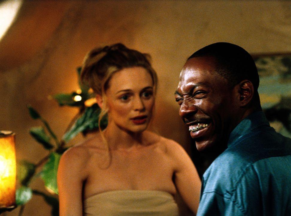 Gemeinsam mit Daisy (Heather Graham, l.) und Kits Bruder Jiff (Eddie Murphy, r.) gelingt es Bobby, einige Filmsequenzen zu drehen, ohne das Kit etwa... - Bildquelle: Universal Pictures