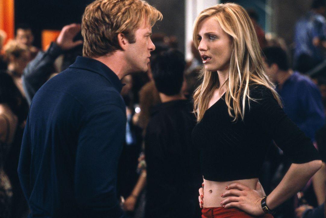 Christina (Cameron Diaz, r.) ist sexy, charmant und einfach umwerfend. Kein Mann kann ihr widerstehen, doch aus Angst, jemand könnte ihr Herz brech... - Bildquelle: 2003 Sony Pictures Television International