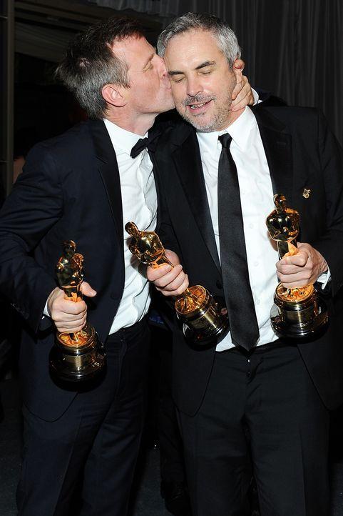 Oscars-Governors-Ball-Alfonso-Cuaron-Spike-Jonze-140302-AFP - Bildquelle: AFP