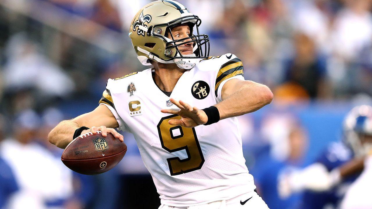 Platz 6: Drew Brees (New Orleans Saints) - Bildquelle: 2018 Getty Images