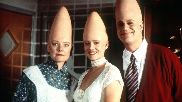 Eine fast normale amerikanische Familie: Die drei sympathischen Coneheads Mut...