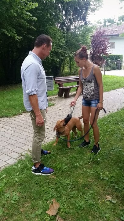 Jochen Bendel mit Amanda Schmeer und Hedi