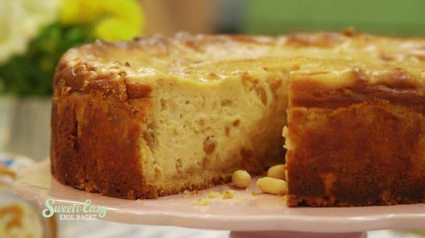 New York Peanutbutter Cheesecake: Das Gast-Rezept von Luca Gültas