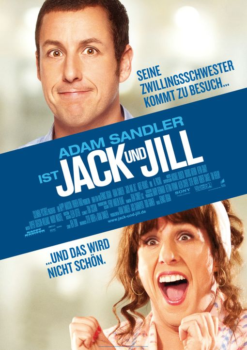 Jack and Jill - Plakatmotiv - Bildquelle: 2011 Columbia Pictures Industries, Inc. All Rights Reserved.