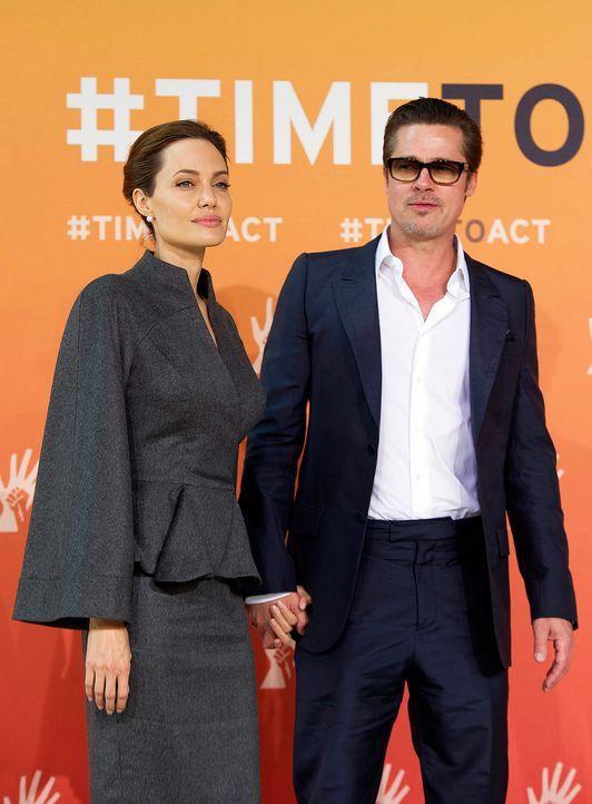 Angelina-Jolie-Brad-Pitt-140613-AFP - Bildquelle: AFP