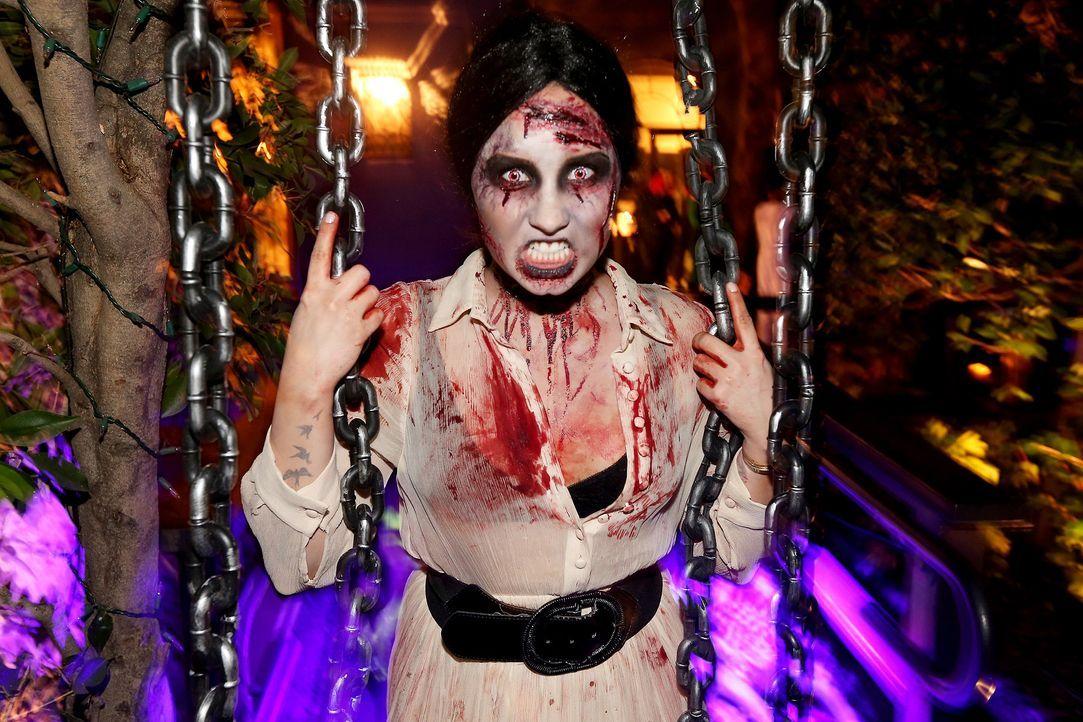 Stars an Halloween: Demi Lovato - Bildquelle: getty-AFP