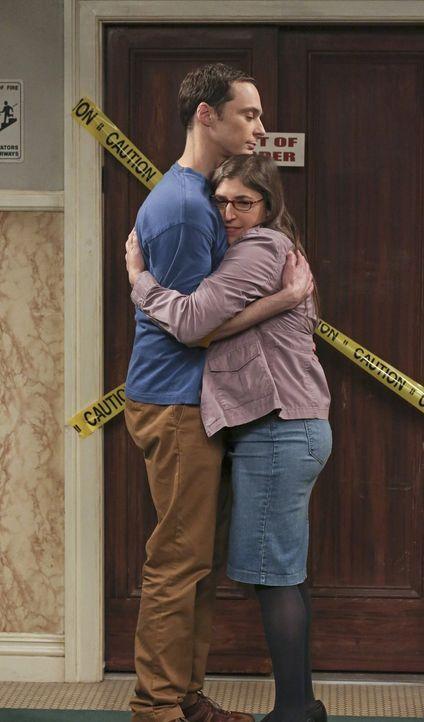 Wollen in ihrer Beziehung einen Schritt weitergehen: Sheldon (Jim Parsons, l.) und Amy (Mayim Bialik, r.) ... - Bildquelle: Warner Bros. Television