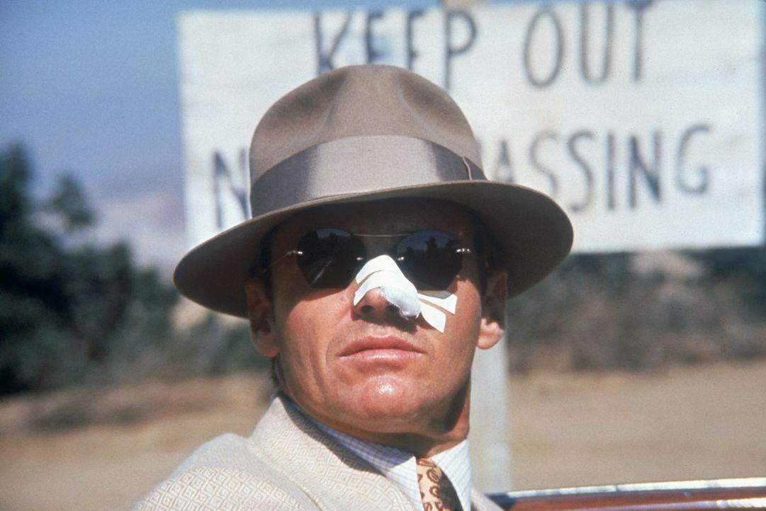 Privatdetektiv J.J. Gittes (Jack Nicholson) gerät in einen Sumpf aus Korruption und skandalösen Machenschaften bis hin zum Mord ... - Bildquelle: Paramount Pictures