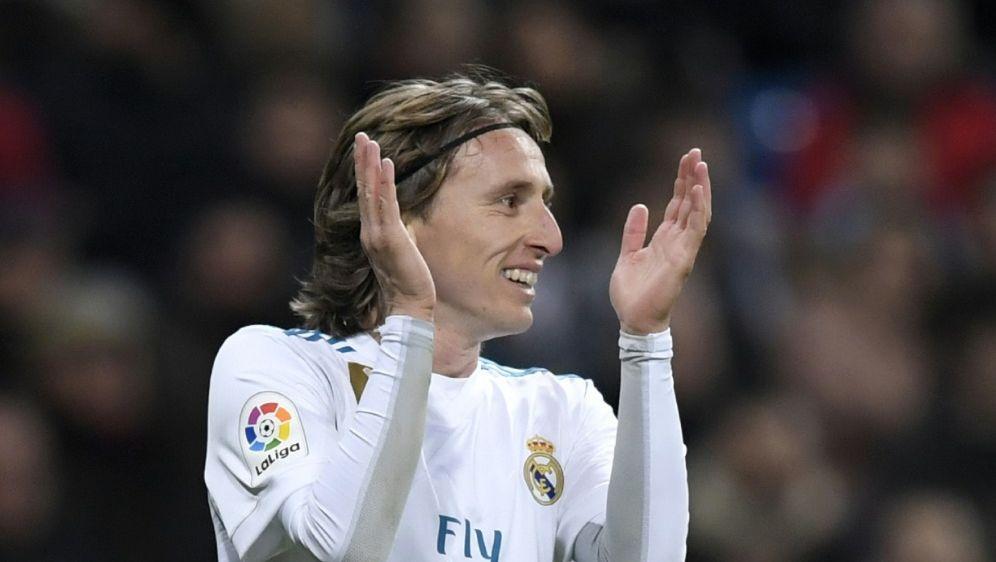 Luka Modric soll einen neuen Vertrag unterzeichnen - Bildquelle: AFPSIDGABRIEL BOUYS