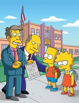 Die Simpsons - An der Grundschule von Springfield wird der Schultest der Regi...