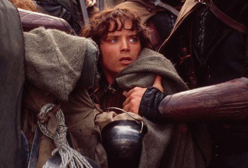 Der Herr der Ringe - Die zwei Türme - Der Bann des Ringes raubt Frodo (Elijah...
