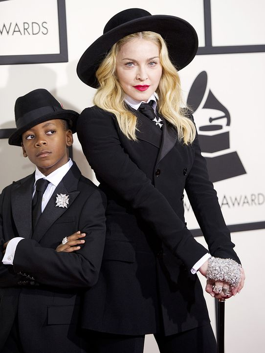 Grammy-Awards-Madonna-David-Banda-14-01-26-AFP - Bildquelle: AFP