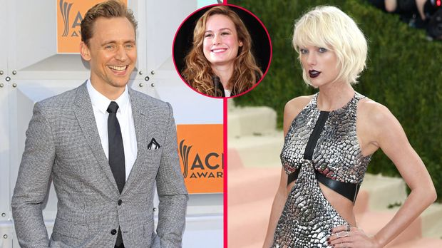 Taylor Swift Und Tom Hiddleston Brie Larson Lästert über Romanze