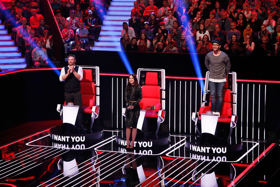 The-Voice-Kids-s04e01-Coaches-SAT1-Richard-Huebner - Bildquelle: SAT.1/ Richard Huebner