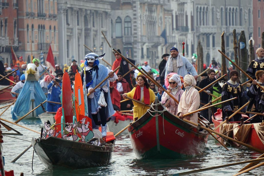 Karneval in Venedig: Die schönsten Bilder3 - Bildquelle: dpa