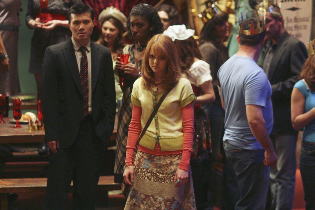 Charlie (Jayma Mays) muss erkennen, dass Henrys Herz einer anderen gehört ... - Bildquelle: Buena Vista International Television
