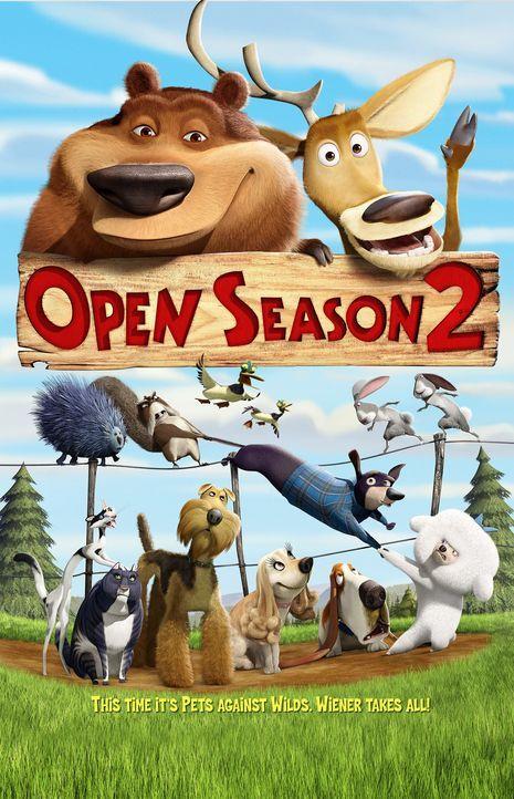 Die tierischen Freunde halten immer fest zusammen! - Bildquelle: 2008 Sony Pictures Animation Inc. All Rights Reserved.