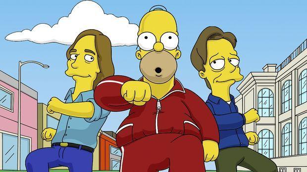 Nachdem Homer (M.) seinen Führerschein verloren hat, entdeckt er eine neue Le...
