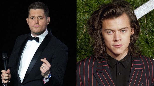 """One Direction""-Star Harry Styles: Michael Bublé gerät ins Schwärmen"