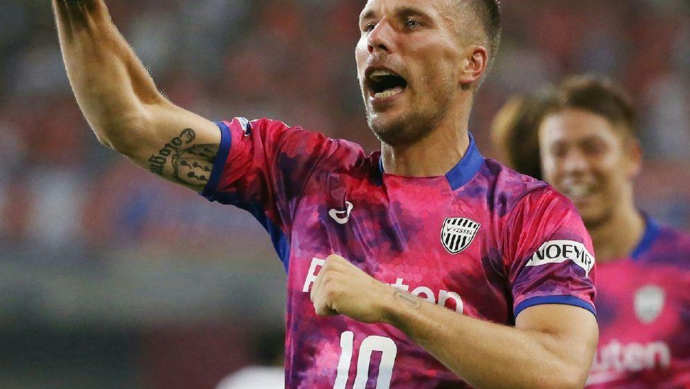 Lukas Podolski erzielte gegen Shimizu S-Pulse das 1:0 - Bildquelle: JIJI PRESSJIJI PRESSSIDSTR