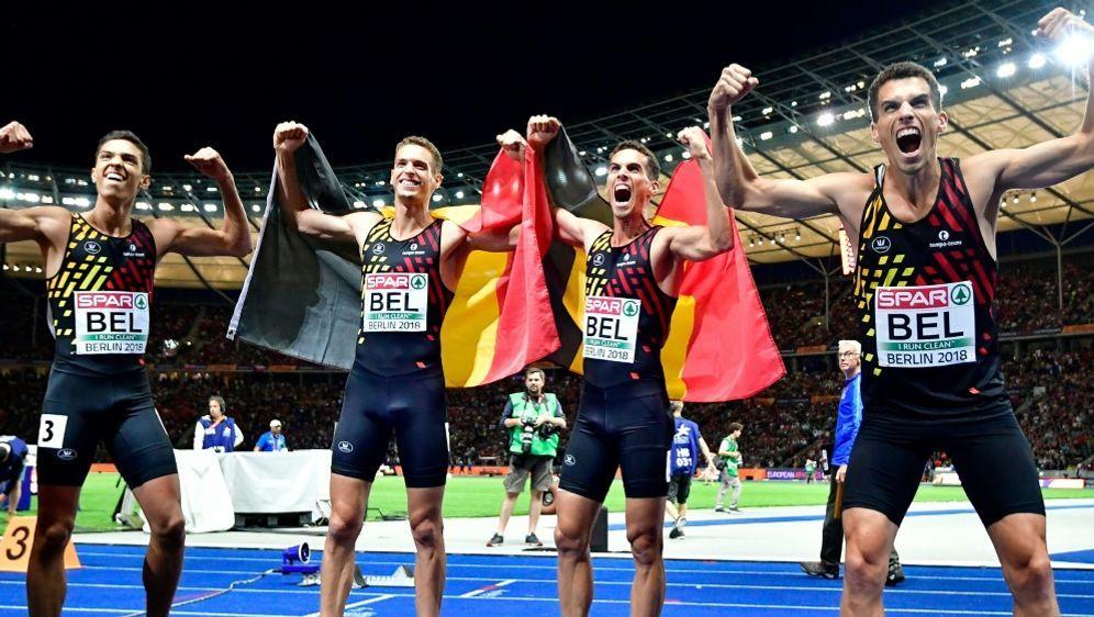 Belgien holt Gold - Deutsche Staffel chancenlos - Bildquelle: AFPSIDTobias SCHWARZ