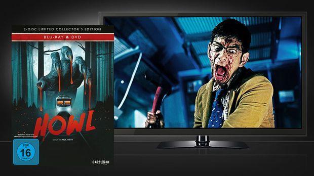 Howl - Blu-ray Cover und Szenenbild © Capelight Pictures