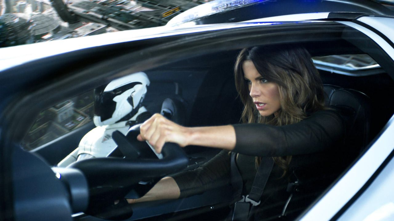 "Kate Beckinsale in ""Total Recall"" - Bildquelle: Sony Pictures"