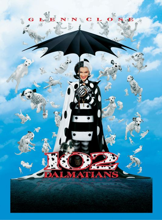 Cruella de Vil (Glenn Close) ist wieder zurück und auf der Jagd nach den süßen Vierbeinern ... - Bildquelle: Walt Disney Pictures