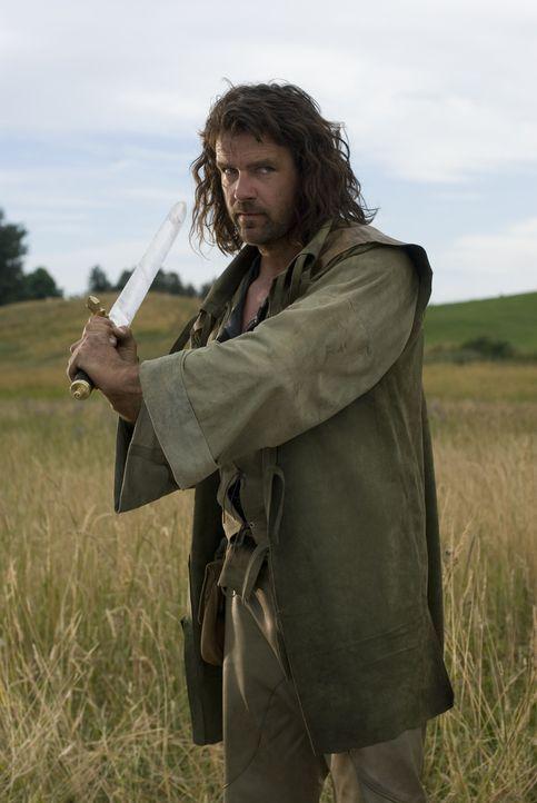 Will an den Blutskriegern persönlich Rache nehmen: John Serragoth (David James Elliott) - Bildquelle: 2008 Dragonsteel Films Inc.