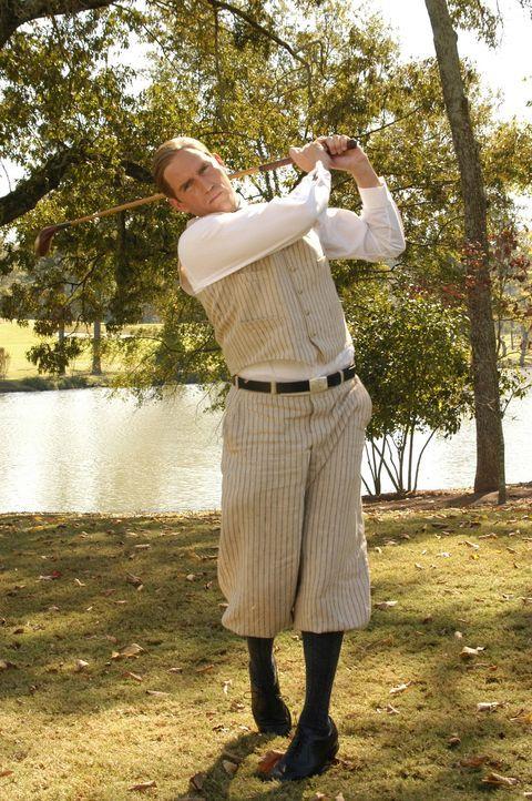 Sollte Bobby Jones (James Caviezel) sich jemals für oder gegen den Golfsport entscheiden müssen, wäre seine Entscheidung schnell getroffen ... - Bildquelle: 2003 Bobby Jones Film, LLC. All Rights Reserved.