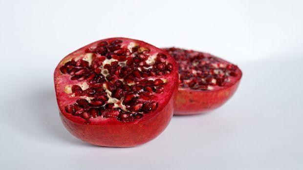 Spinatsalat Granatapfel