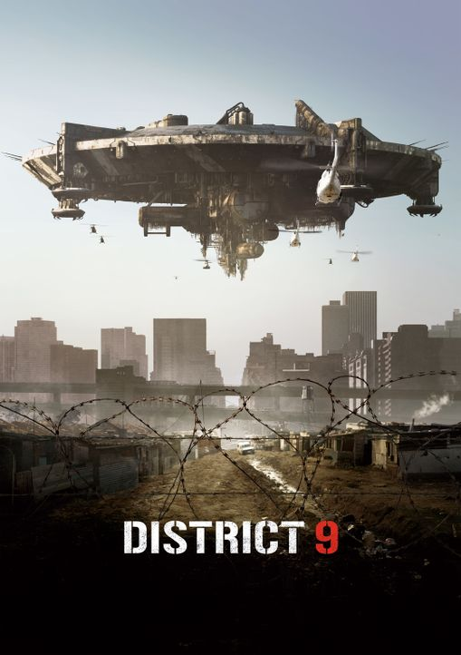 DISTRICT 9 - Plakatmotiv - Bildquelle: 2009 District 9 Ltd. All Rights Reserved.