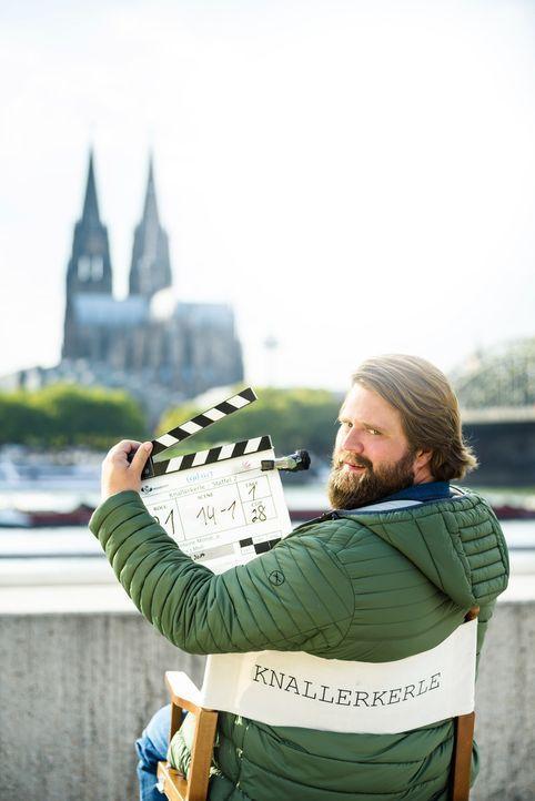 """(2. Staffel) - Hauptdarsteller Antoine Monot Jr. in der Sketch-Comedy Serie """"Knallerkerle"""" ... - Bildquelle: Willi Weber SAT.1"""