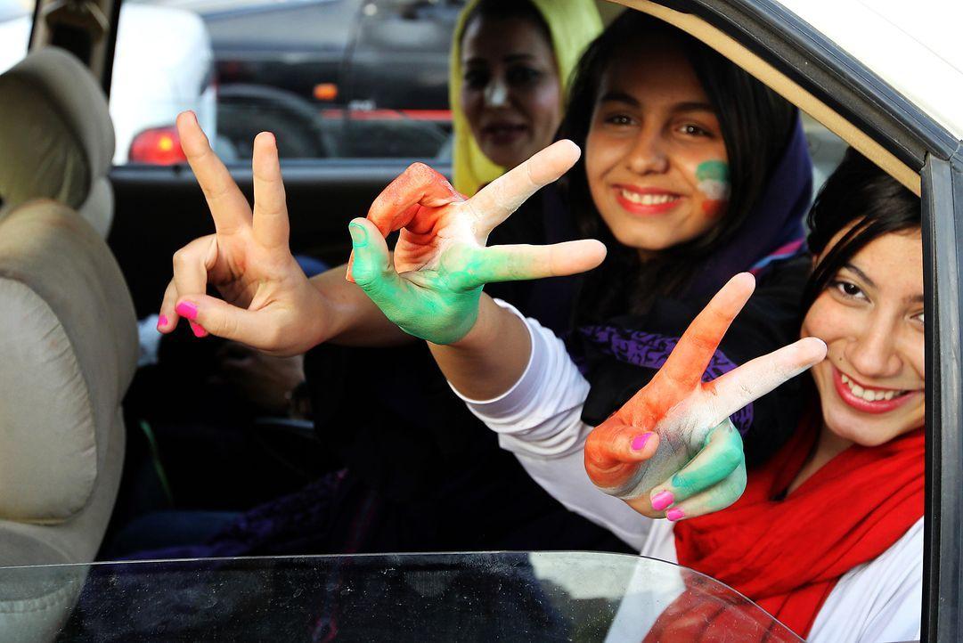 Die irrsten Iran-Fans - Bildquelle: AFP