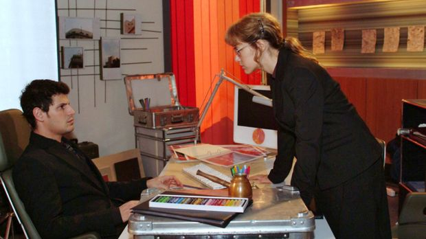 Lisa (Alexandra Neldel, r.) kann ihren Ärger über Rokko (Manuel Cortez, l.),...