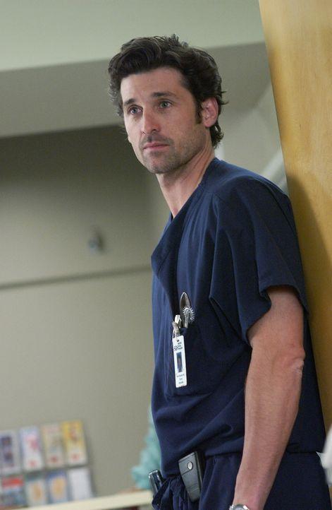 Nach einem deutlichen Wort von Meredith bemüht sich Derek (Patrick Dempsey) um professionelle Distanz zu ihr ... - Bildquelle: Touchstone Television