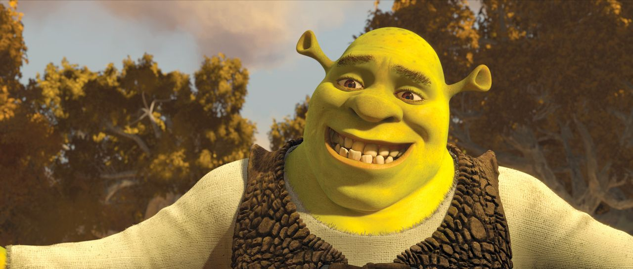 Nach seinen zahlreichen Abenteuern ist Shrek zu einem gesetzten Familienvater geworden. Anstatt weiterhin Dorfbewohner zu verschrecken, ist Shrek al... - Bildquelle: 2012 DreamWorks Animation LLC. All Rights Reserved.