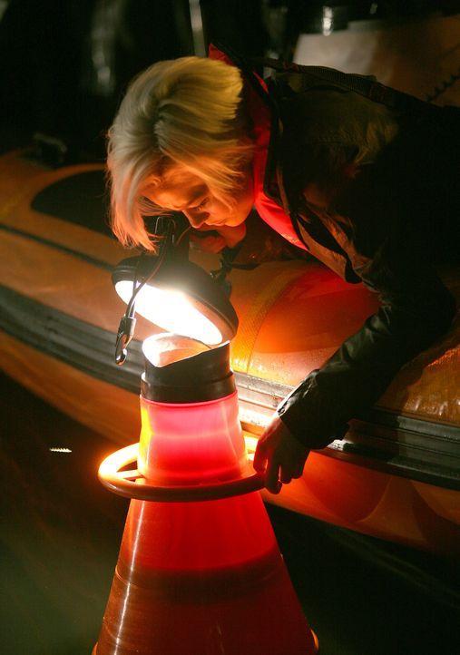 Auf der Suche nach einem Urzeitmonster: Abby (Hannah Spearritt) ... - Bildquelle: ITV Plc