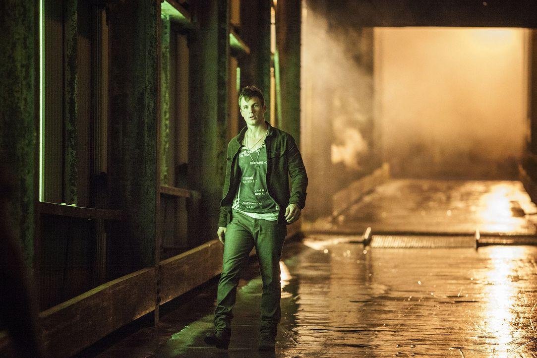 Als Roman (Matt Lanter) von einem geplanten Angriff von Drake und dessen Freunden auf eine menschliche Teenager-Gruppe erfährt, entschließt er sich... - Bildquelle: 2014 The CW Network, LLC. All rights reserved.