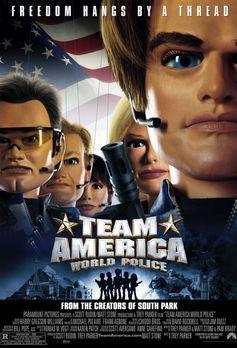 Team America - TEAM AMERICA - Plakatmotiv - Bildquelle: Paramount Pictures