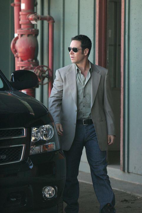 Auf der Rennbahn wird Danny Roberts erstochen: Don (Rob Morrow) und sein Team werden mit diesem Fall beauftragt ... - Bildquelle: Paramount Network Television