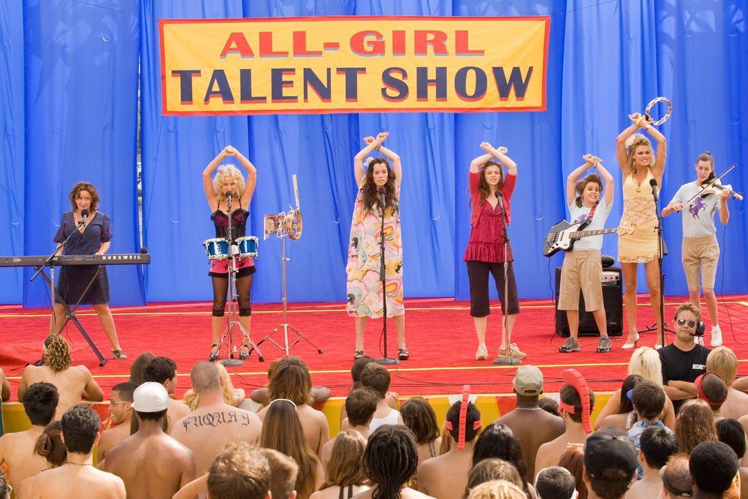 Nehmen an einem Talentwettbewerb teil: (v.l.n.r.) Judi (Rachel Dratch), Gayle (Amy Poehler), Becky (Parker Posey), Ashley (Amber Tamblyn), Lydia (Ma... - Bildquelle: Warner Bros.