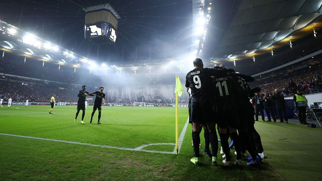 Eintracht Frankfurt nimmt Europa League ernst - Bildquelle: 2018 Getty Images