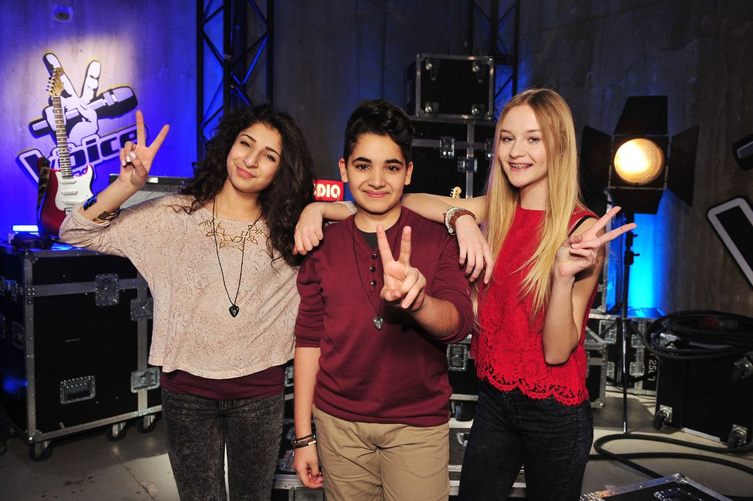 The-Voice-Kids-Stf02-Epi07-Soufjan-Renaz-Pia-6-SAT1-Andre-Kowalski - Bildquelle: SAT.1/Andre Kowalski