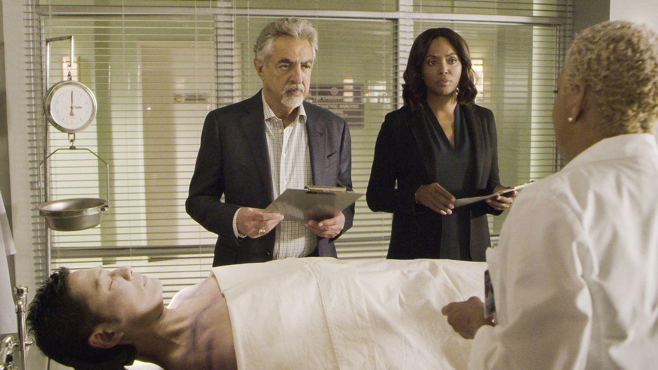 David Rossi (Joe Mantegna, l.) Dr. Tara Lewis (Aisha Tyler, r.) - Bildquelle: 2018 CBS Broadcasting, Inc. All Rights Reserved.