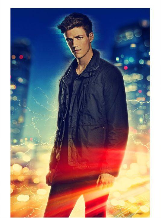 (1. Staffel) - Barry Allen (Grant Gustin) ist als Forensiker bei der Polizei von Central City tätig. Als der Teilchenbeschleuniger in den STAR Labs... - Bildquelle: Warner Brothers.