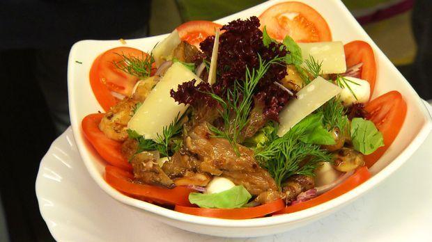Karibischer salat rosin