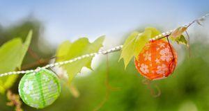 Eine Lichterkette ist nicht nur was für den Winter. Auch Ideen für sommerlich...