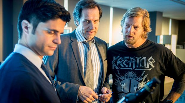 Müssen einen neuen Fall lösen: Mick (Henning Baum, r.), Andreas (Maximilian G...