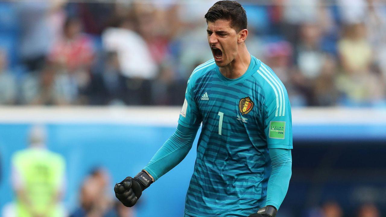 Golden Glove: Thibaut Courtois (Belgien) - Bildquelle: 2018 Getty Images